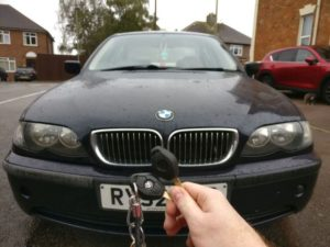 BMW 320D spare key