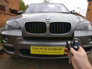 BMW X5 spare key