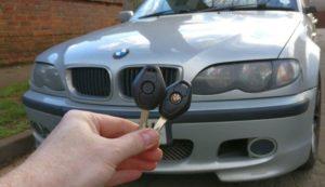 BMW 3 series spare key