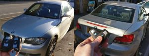 BMW 123D spare key