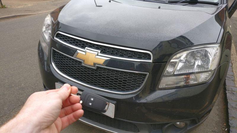 Chevrolet Orlando spare key