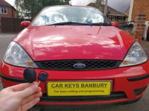 Ford Focus spare key (remote key)