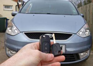 Ford Galaxy spare key