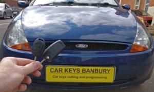 Ford KA spare key (flip key)