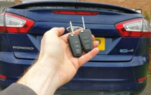 Ford Mondeo 2011 spare key