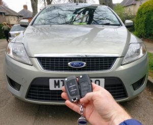 Ford Mondeo spare key