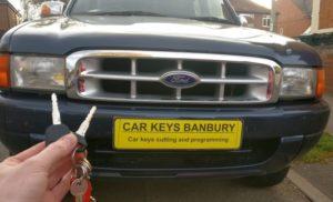 Ford Ranger spare key