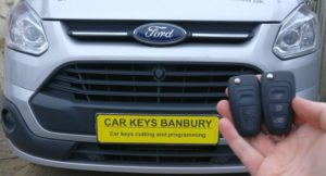 Ford Transit Custom 2014 spare key