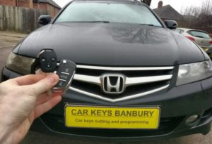 Honda Accord spare key (flip key)