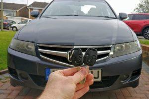 Honda Accord spare key