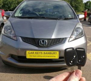Honda Jazz spare key