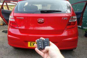 Hyundai i30 spare key