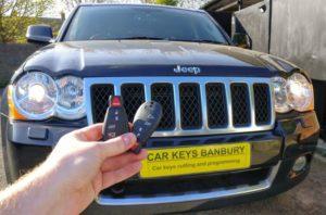 Jeep Grand Cherokee 2010 fobik spare key