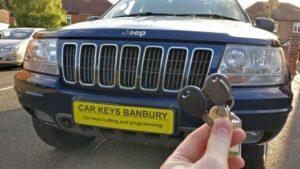 Jeep Grand Cherokee spare key