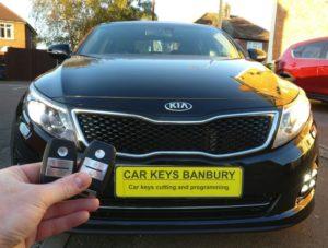 Kia Optima 2014 spare key (smart key)