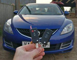 Mazda 6 spare key