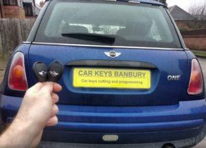 Mini One spare key