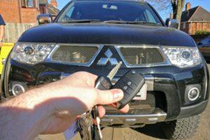 Mitsubishi L200 spare key (flip key)