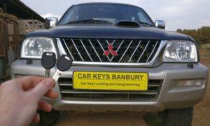 Mitsubishi L200 all keys lost. new key cut and programmed.
