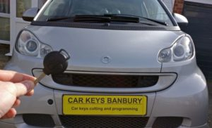 Smart Fortwo spare key