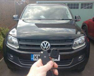 VW Amarok spare key
