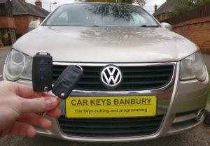 VW EOS spare key