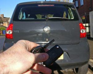VW Fox spare key