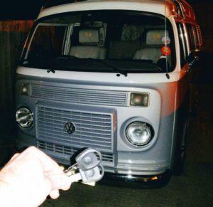 VW T2 Camper Van spare key