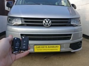 VW Transporter spare key