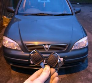 Vauxhall Astra spare key