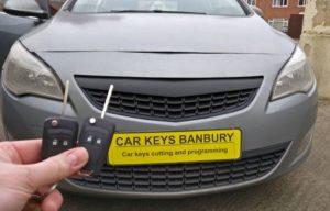 Vauxhall Astra J 2011 spare key