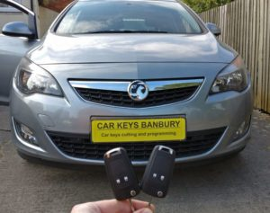Vauxhall Astra J spare key