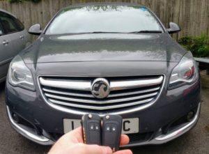 Vauxhall Insignia 2014 spare key