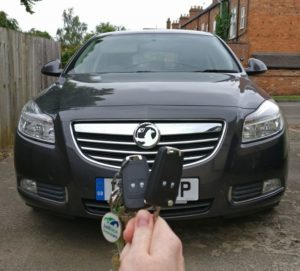 Vauxhall Insignia spare key