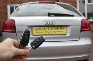 Audi A3 spare key