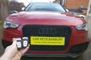 Audi A5 spare key