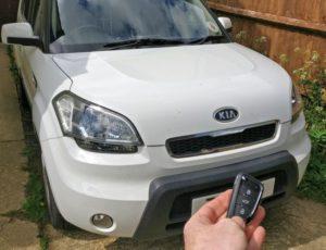 Kia Soul spare key.