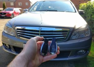 Mercedes C-Class spare key