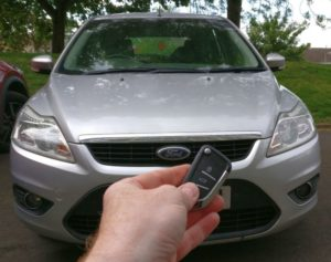Ford Focus all keys lost. new 3 button remote key cut and programmed