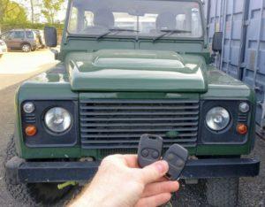 Land Rover Defender new remote programmed