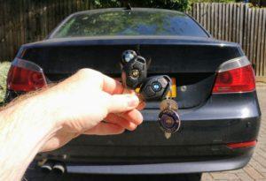 BMW 525 spare key