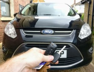 Ford C-max spare manual key