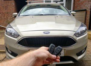 Ford Focus keyless go spare key