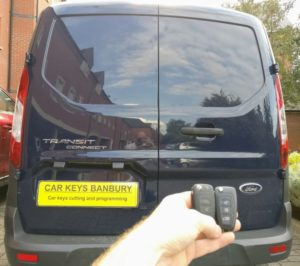 Ford transit connect spare key