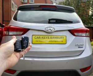 Hyundai ix20 spare key