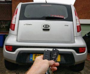 Kia soul 2012 spare key