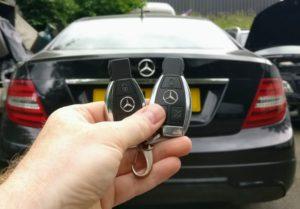 Mercedes C Class spare key