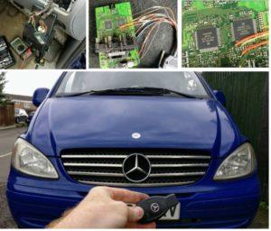 Mercedes Vito ignition problem fixed
