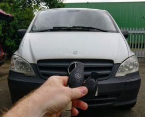 Mercedes Vito spare key