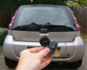 Smart forfour spare key